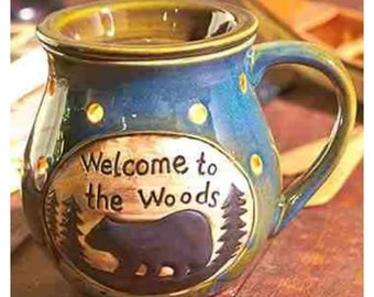 Black bear tart warmer