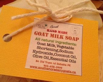 All Natural Goats Milk Soap