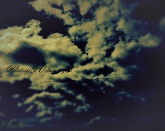 Title: Giving Speed, Fine Art Photography, Clouds, Beauty, Oregon, Framed Photo,Nature, Sky,