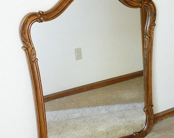 Vintage Kindel Furniture Co. Wood Frame Mirror