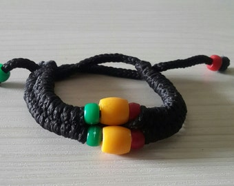 African Traditional Woven Bracelet, African Lucky Bracelet, Woven Bracelet, Friendship  Bracelet