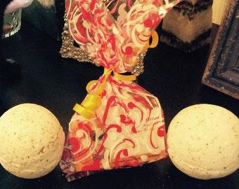 Healing with a Feeling Herbal Magick Bath Bombs