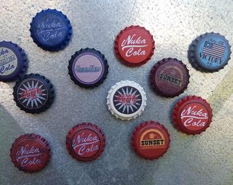 Nuka Cola Cap Magnets