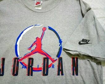 Nike Air Jordan Vintage 90s T Shirt Size M Mens