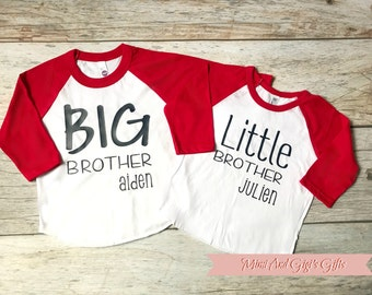 Big Brother Little Brother Set of Matching Shirts