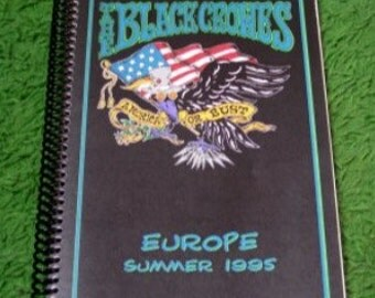 The Black Crowes Tour Itinerary
