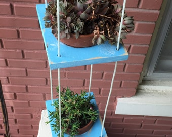 3 tiered hanging planters