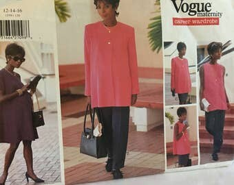 Vogue 1559 Maternity Career Wardrobe Sewing   Pattern 12-14