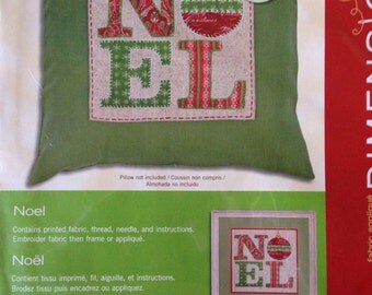 NOEL fabric applique kit Dimensions 72-08875