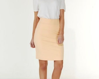 Milly Skirt - Apricot