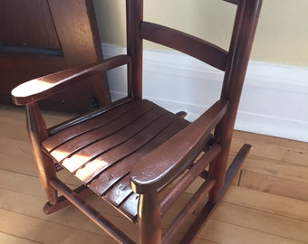 1940s Children's Rocking Chair~Restored