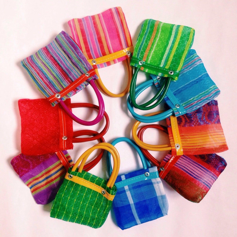 Mexican bag Mexican tote Mexican market bag Mercado bag   Chalupa Mexican Mercado Bags