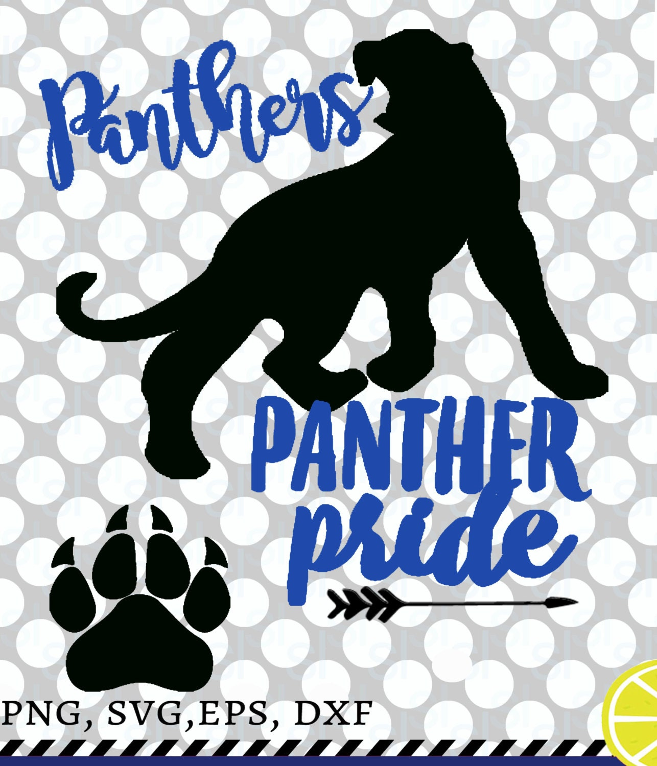 Panthers SVG Panthers Clipart / Go Panthers Panther vector