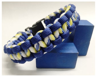 Personalized 550 Paracord Bracelet