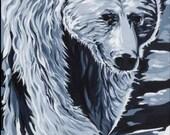 Spirit Bear - Print of Original Painting