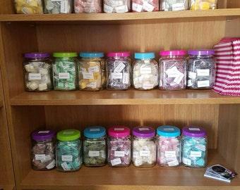 50 Random Homemade Soya Wax Melts