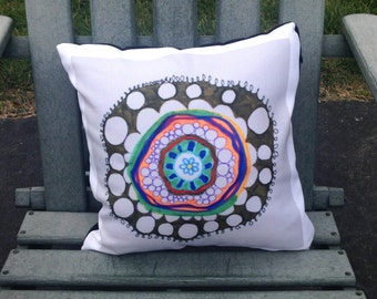 Concentric Pillow