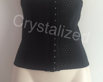 Black waist trainer / waist cincher
