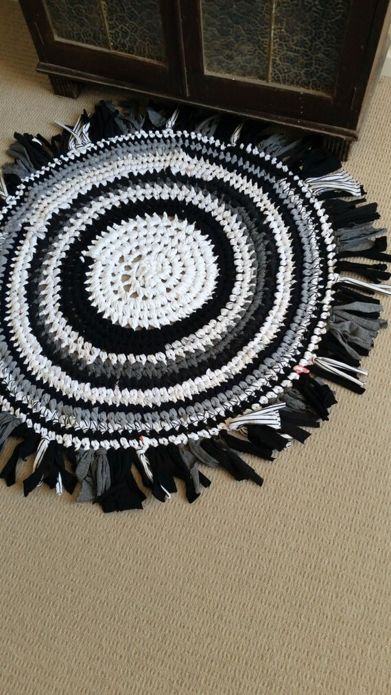 Recycled T Shirt Yarn Rag Rug