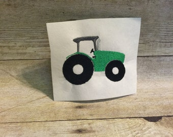 Tractor Embroidery Design, Tractor Applique