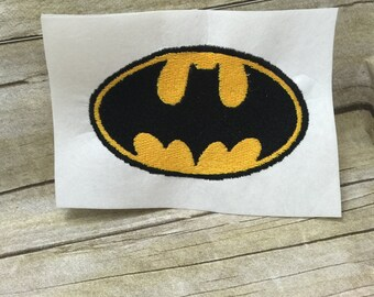 Batman Logo Embroidery Design, Batman Embroidery Design