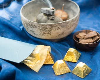 Frankincense Gold (Raw Vegan) Dark Chocolate