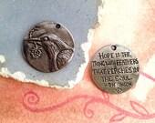 Green Girl Studios Bird Hope Coin