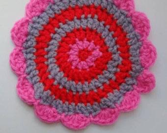 Coaster Crochet Handmade (mug not included)