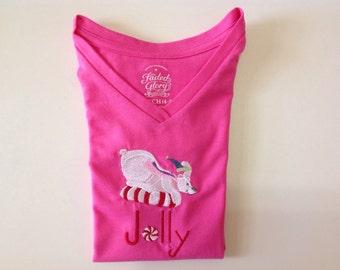 Embroidered Shirt Peppermin Polar Baer