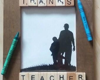 Thanks teacher gift frame