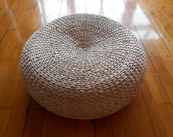floor cushion etsy. Black Bedroom Furniture Sets. Home Design Ideas