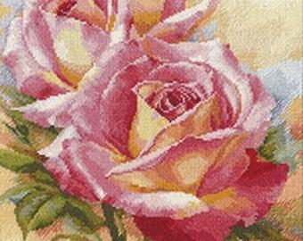 Rose Dreams - Cross stitch kit