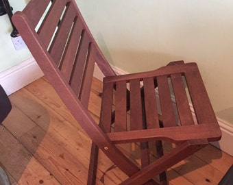 Garden chairs- solid wood - patio style