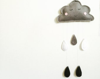 Cloud Nursery Wall Hanging