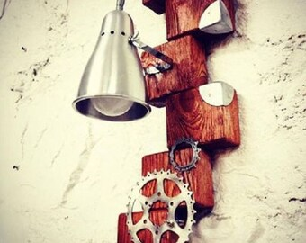 Lamps Wood lighting Edison Steampunk Pendant Lighting vintage lamp