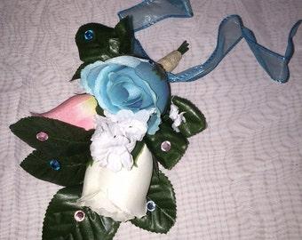 Three Flower Corsage