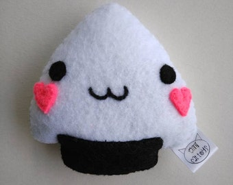 Onigiri Catnip toy, Cat toy, kawaii
