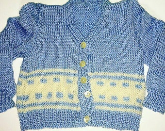Boys knitted cardigan