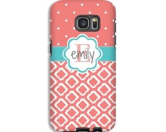 Monogram Samsung Galaxy S8 case, iKat Galaxy S7 Edge case, custom Google Pixel case, monogram A3 case, 3D Samsung cases