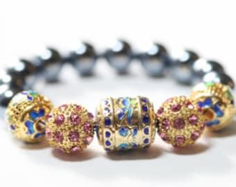 Skazka stretchable bracelet  #1300