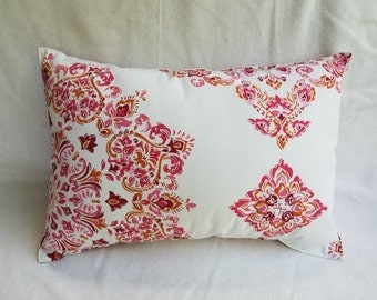 Pink Printed Pillow