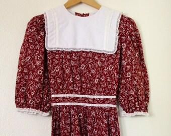 Vintage 70s Prairie Dress