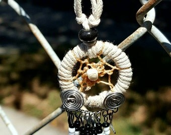 Ivory Dream Catcher Necklace