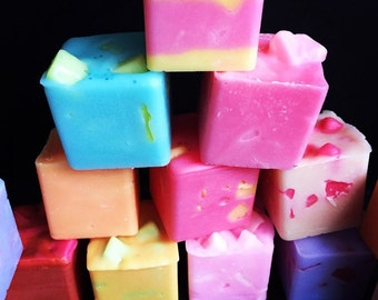 5 Chunks of your choice ~ (Bundle Deal)Premium Wax Melt Chunklets, Wax Melts, wax Chunks, Strong Scented