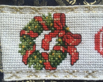 Christmas Stocking - Wreath