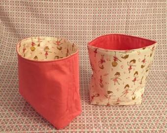 storage fabric, decoration home decoration room baby girl basket
