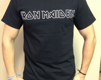 Iron Maiden T-shirt 100 % Cotton and 1 stisker Free