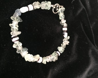 Green Seaglass Bracelet