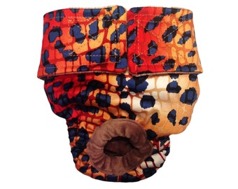 Hot Cheetah Washable Bunny Diaper Rabbit Diaper