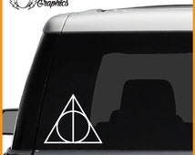 Deathly Hallows Vinyl Vehicle Decal